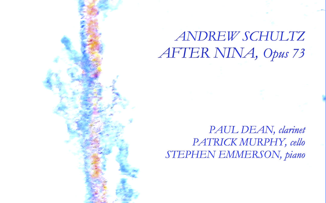 'Captivating' and 'eloquent' After Nina by Andrew Schultz – recording release