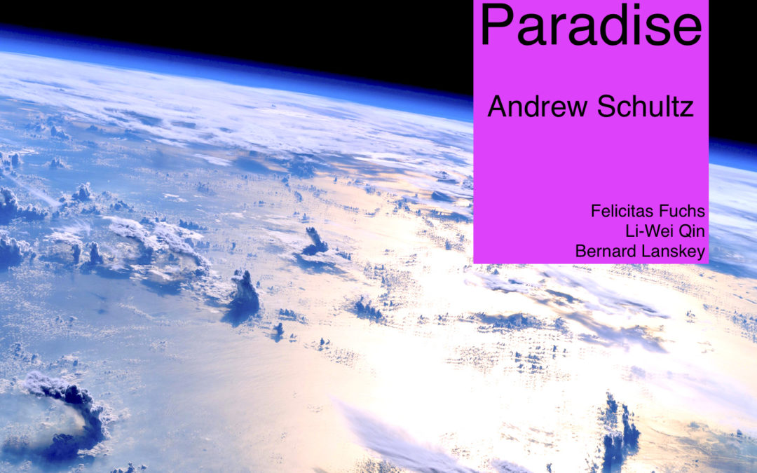 Paradise by Schultz recording release